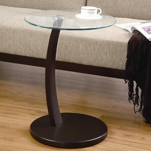 Banas End Table by Ebern D..
