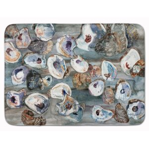 Seagrove Bunch of Oysters Memory Foam Bath Rug