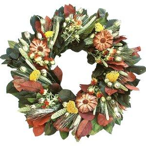 Cone Flower Wreath