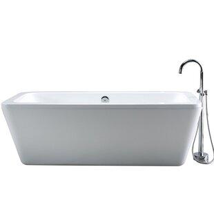 Boyce Acrylic Freestanding Tub Wayfair