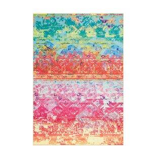 Atelier Pink/Orange/Turquoise Rug by Arte Espina
