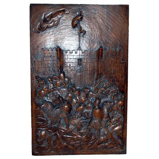 Medieval Castle Plaque Wall Decor