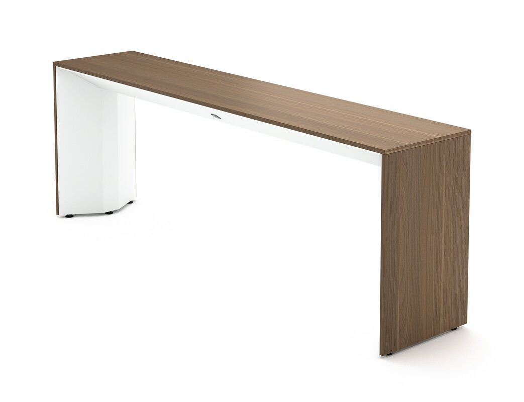 Steelcase Campfire Slim Console Table & Reviews   Wayfair