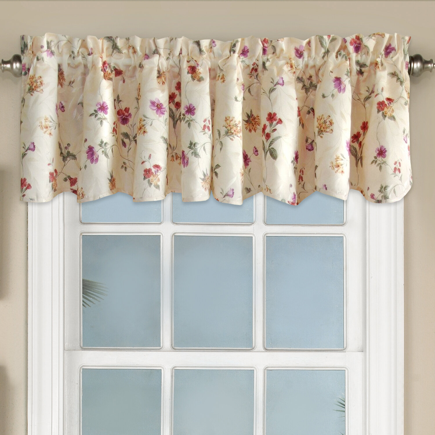 Sweet Home Collection Floral Jacquard 52\