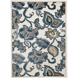 Reviews Anita Floral Linen Area Rug By Winston Porter