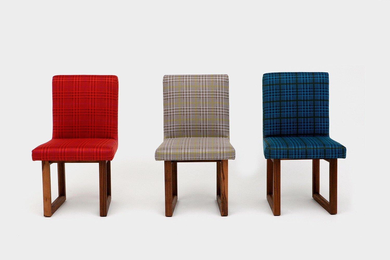 ARTLESS C2 Houndstooth Upholstered Dining Chair | Wayfair