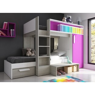 L Shaped Triple Bunk Beds Wayfaircouk