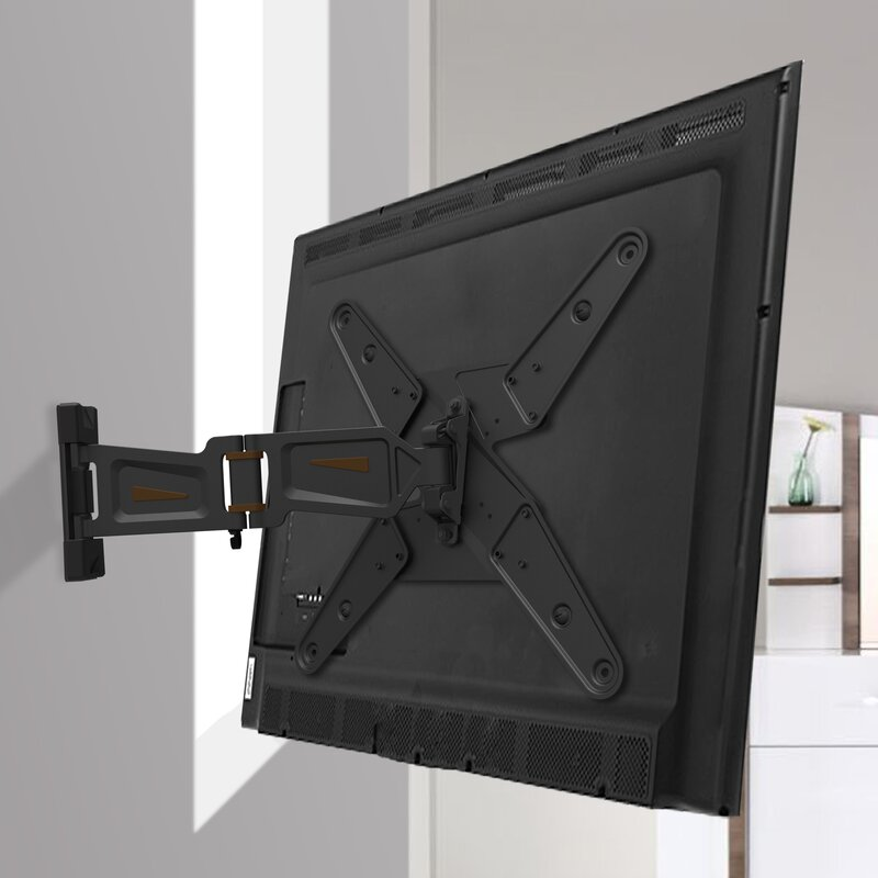 """Full Motion Tv Wall Mount Reviews gforce full motion tv wall mount for 23""""-55"""" flat panel screens"""
