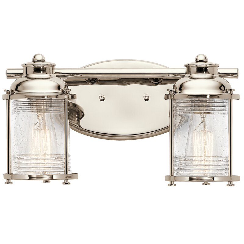 Beachcrest Home Gotha 3 Light Vanity Light Reviews: Beachcrest Home Galsworthy 2-Light Vanity Light & Reviews
