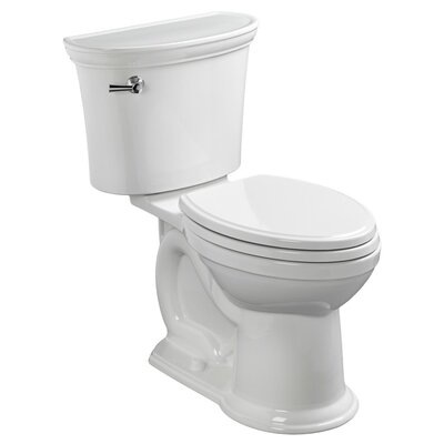 American Standard VorMax Heritage 1.28 GPF Elongated Two-Piece Toilet (Seat Not Included) Color: White