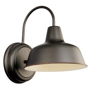 Paula 1-Light Outdoor Barn Light
