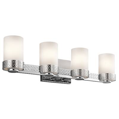 4 light vanity light polished chrome vanity ceri 4light vanity light joss main