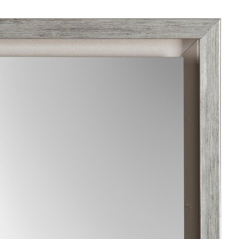 Brayden Studio Whitakers Wood Framed Easel Free Standing Full Length ...