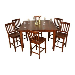Este 7 Piece Counter Height Dining Set by American Heritage