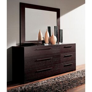 Soho Double Dresser with Mirror by YumanMod