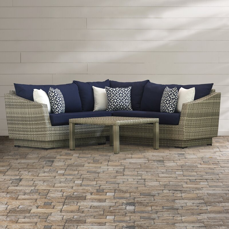 Merveilleux Castelli 4 Piece Sectional Sofa Set With Cushions