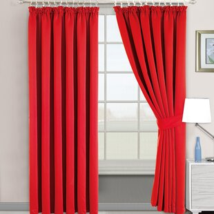 blackout buy back tab pocket sonoma bath rod window bed inch beyond from curtains curtain red panel in