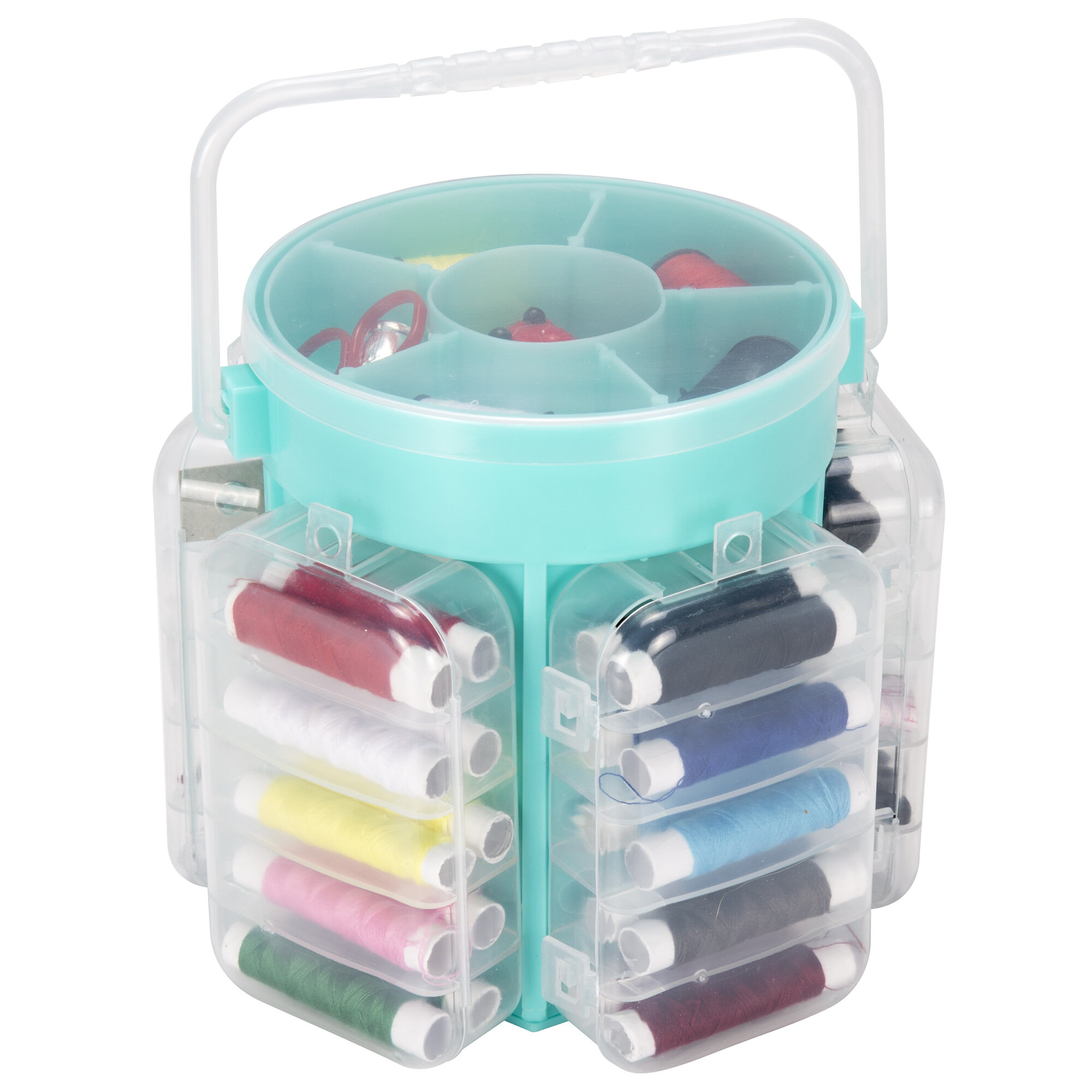 Everyday Home 210 Piece Sewing Kit and Caddy & Reviews | Wayfair