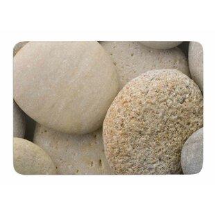 River Stone Bath Mat | Wayfair