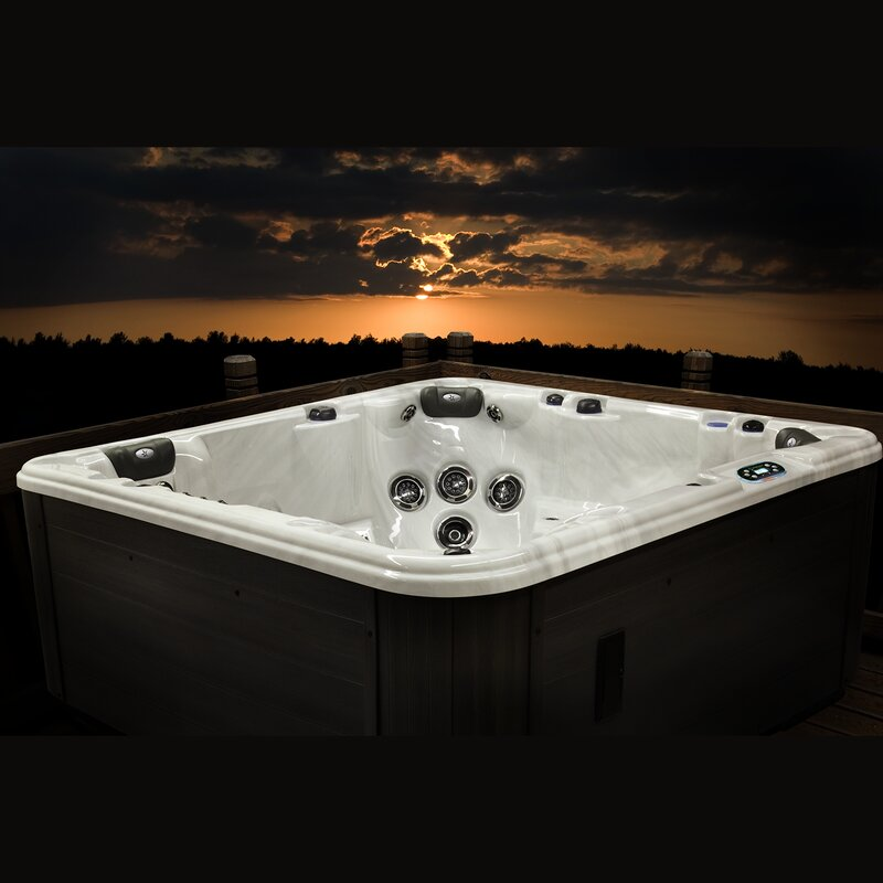 Starlight Hot Tubs Eastern Star 6 Person 45 Jet Hot Tub With