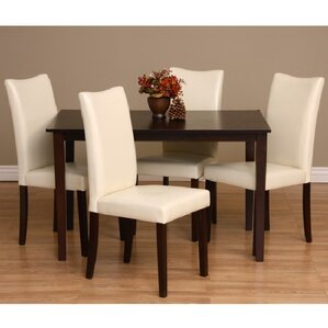 Evendale 5 Piece Dining Set by Red Barrel Studio