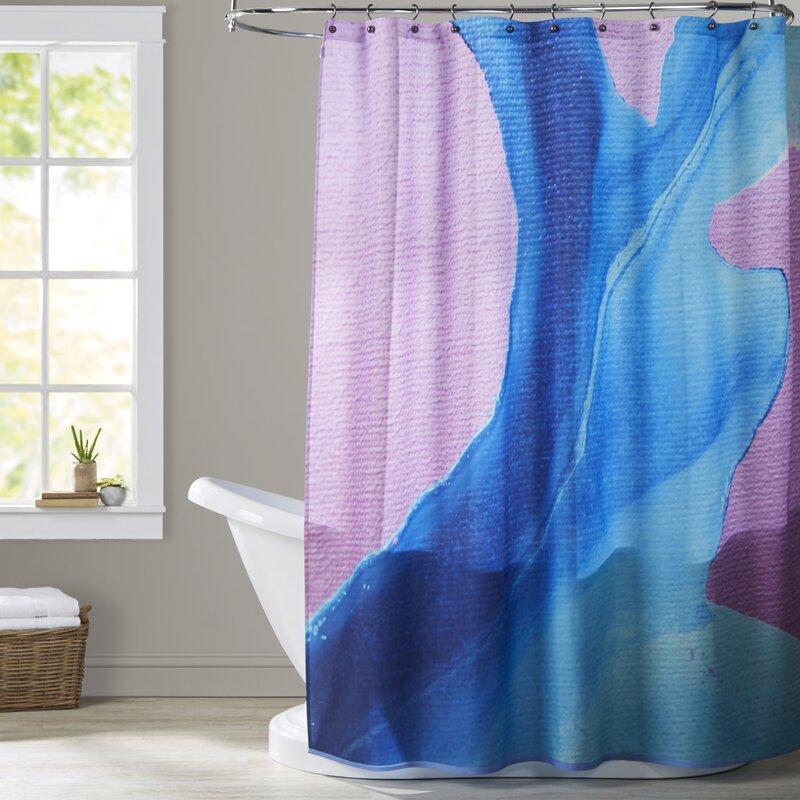 Brayden Studio Deb McNaughton Body of Water Shower Curtain ...