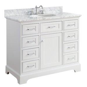 one sink vanity cabinets.  Single Vanities You ll Love Wayfair