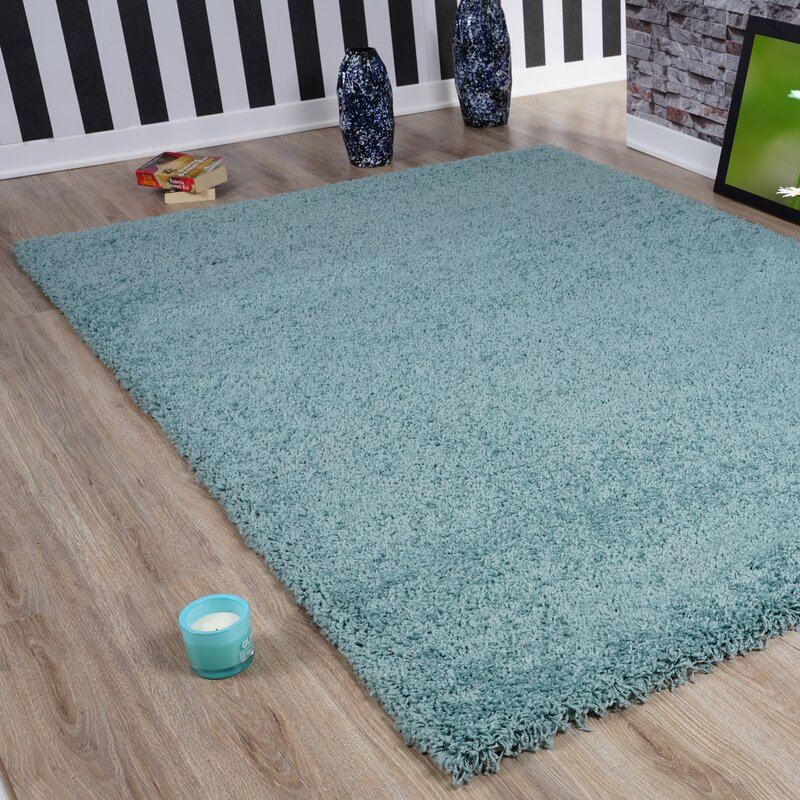 Riley Ave. Quentin Duck Egg Blue Rug & Reviews
