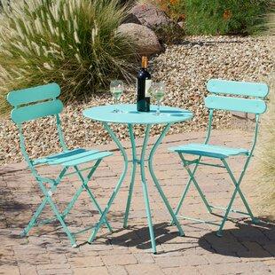 Tall Outdoor Bistro Table Set | Wayfair