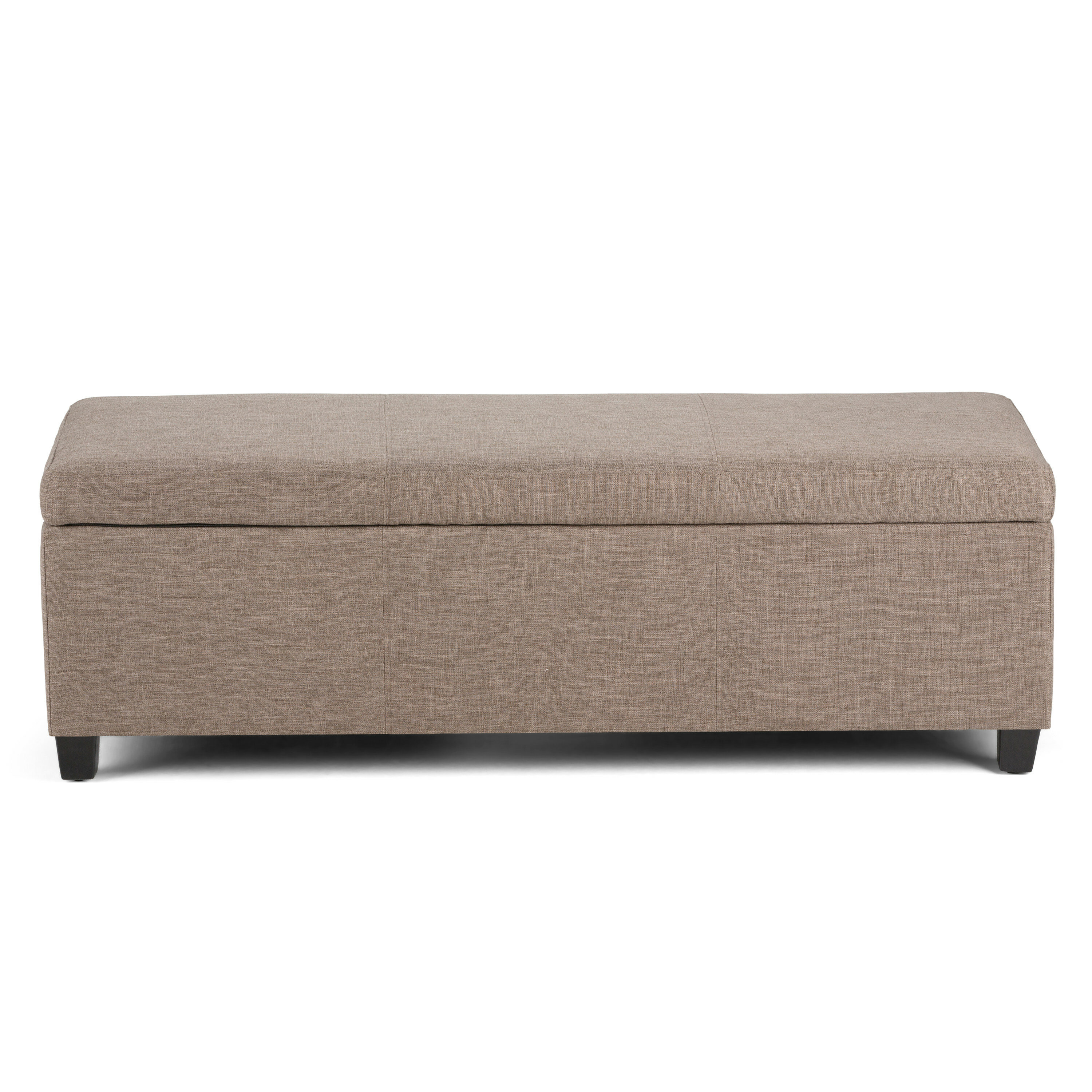 sc 1 st  Wayfair & Simpli Home Avalon Upholstered Storage Bench u0026 Reviews | Wayfair