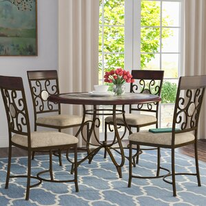 Armisen 5 Piece Dining Set by Red Barrel ..