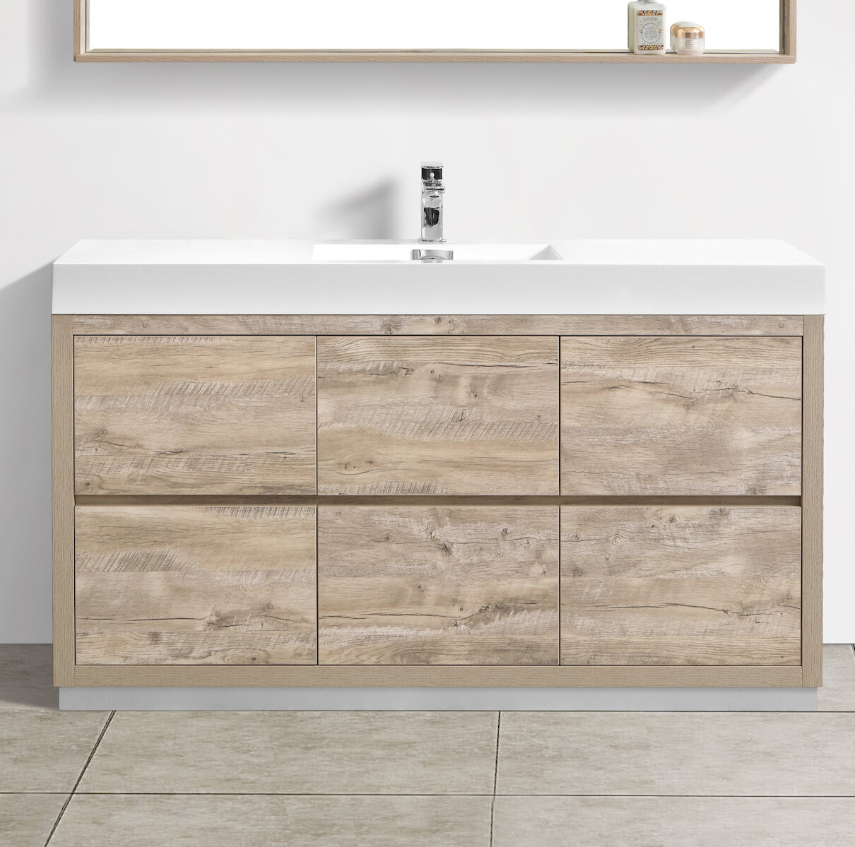 Wade Logan Malakai 59 Single Bathroom Vanity Wayfair