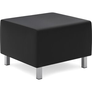 Leather Ottoman by Basyx by HON