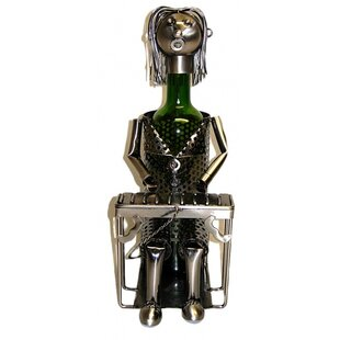 Pianist 1 Bottle Tabletop Wine Rack