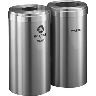 Dual Garbage Recycling Can Wayfair