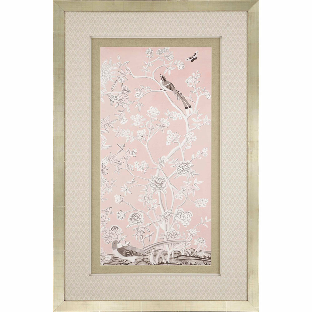 Image result for blush chinoiserie art wayfair