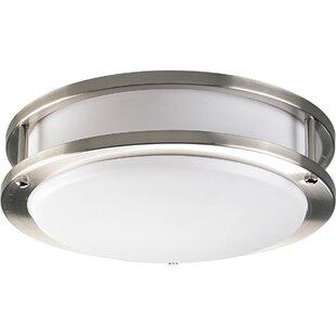 Bathroom ceiling lighting wayfair castille close to ceiling 1 light flush mount aloadofball Choice Image