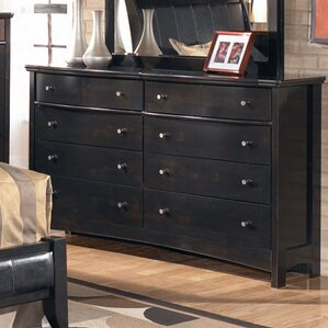 Menard 8 Drawer Double Dresser by Signature Design by Ashley