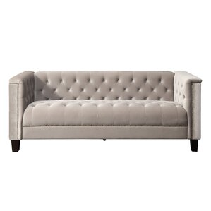 Broughtonville Tufted Chesterfield Sofa by Willa Arlo Interiors