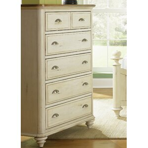Bridgeview 5 Drawer Chest by Beachcrest Home