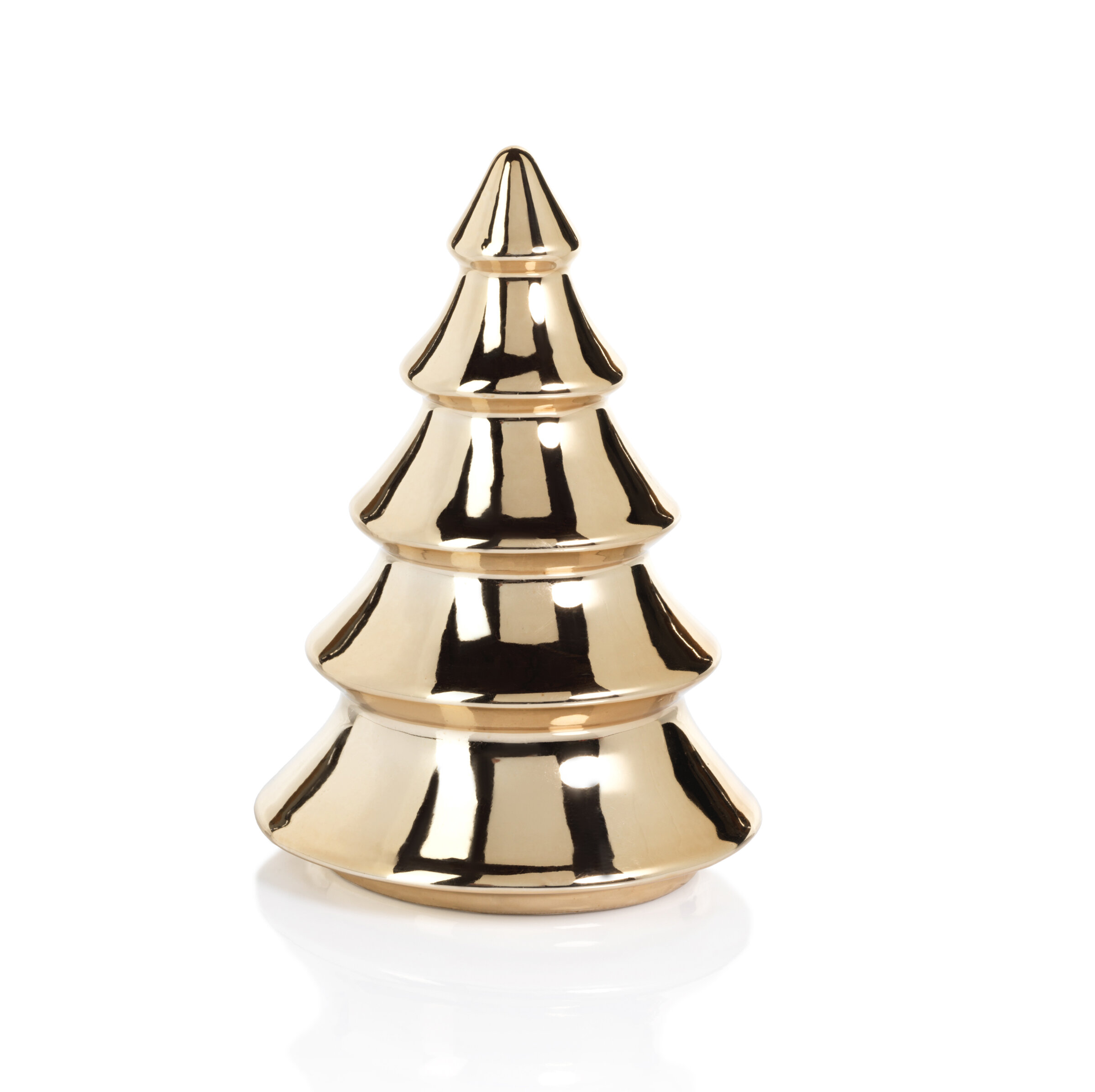 Metallic Tabletop Christmas Trees