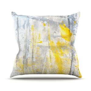 Abstraction by CarolLynn Tice Throw Pillow