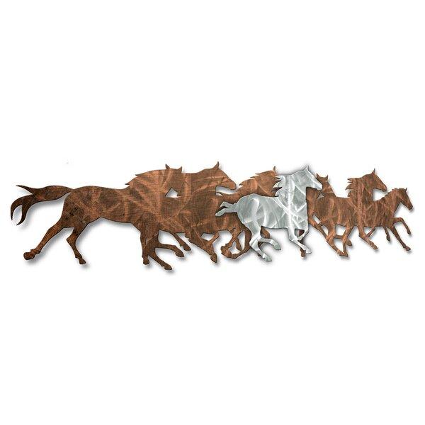 All My Walls Wild Horses Wall Décor U0026 Reviews | Wayfair