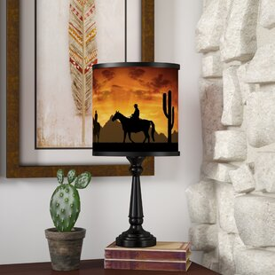 Merveilleux Cowboy Rustic Western Lamps | Wayfair