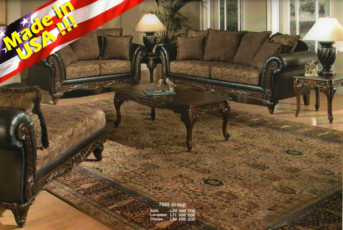 Perfect Oswego 2 Piece Living Room Set