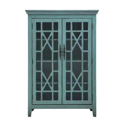 Tall Glass Door Cabinet Wayfair