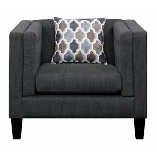 Isai Comfy Fabric Upholstered Armchair