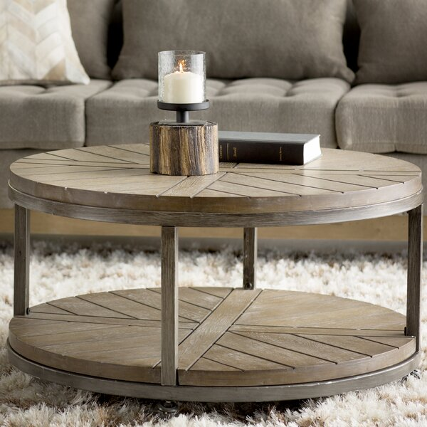 Trent austin design drossett coffee table reviews wayfair - Glass side tables for living room uk ...