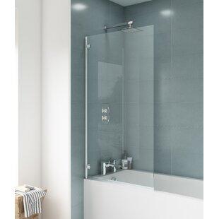 Ella 78cm x 143.5cm Hinged Bath Screen by Premier