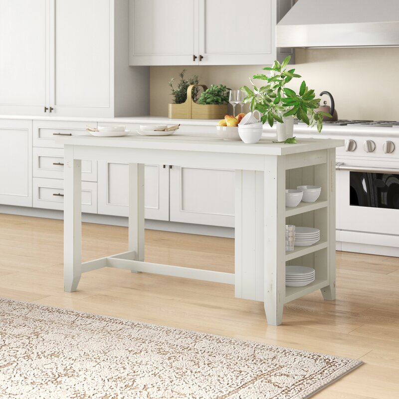 Madaket Reclaimed Kitchen Island Solid Wood